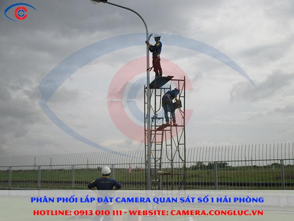 cung cấp lắp đặt camera cho công ty IIA Hải Phòng