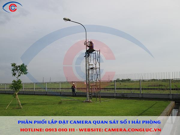 lắp camera giám sát cho công ty IIA tại KCN Đình Vũ Hải Phòng