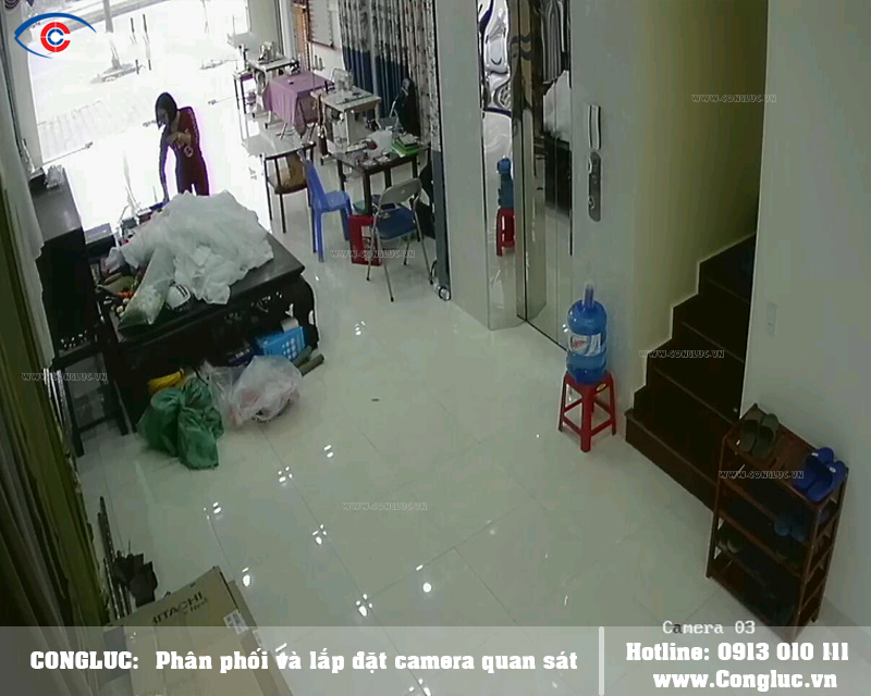 Lắp camera quan sát tại Lê Chân Mành rèm Hảo Hảo