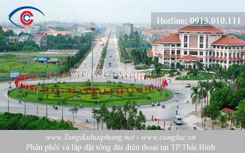 Lắp đặt tổng đài điện thoại tại Thái Bình